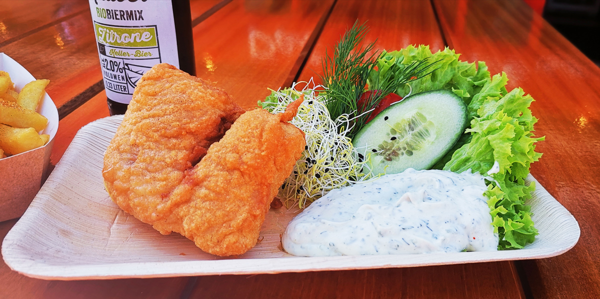 Backfisch Dat Happke Nah